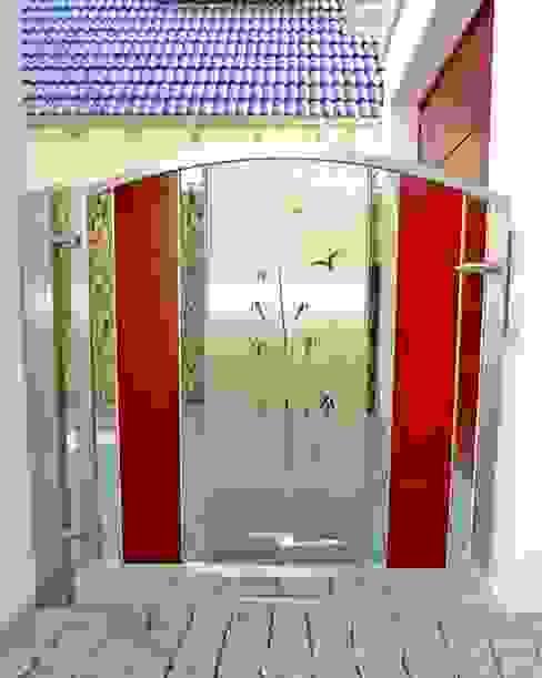 Garden Gates Moderne tuinen van Edelstahl Atelier Crouse: Modern Metaal