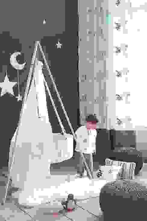 Eklektyczny pokój dziecięcy od Fantasyroom-Wohnträume für Kinder Eklektyczny