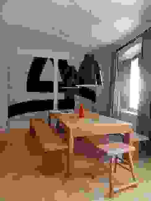 ห้องทานข้าว โดย Casa Architecture