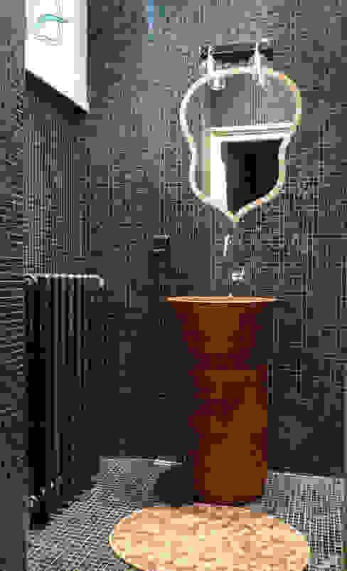 Douche à l'italienne Salle de bain originale par Opus décor Éclectique