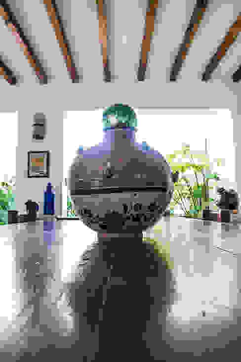 Detalles Mexicanos de Mikkael Kreis Architects Rústico
