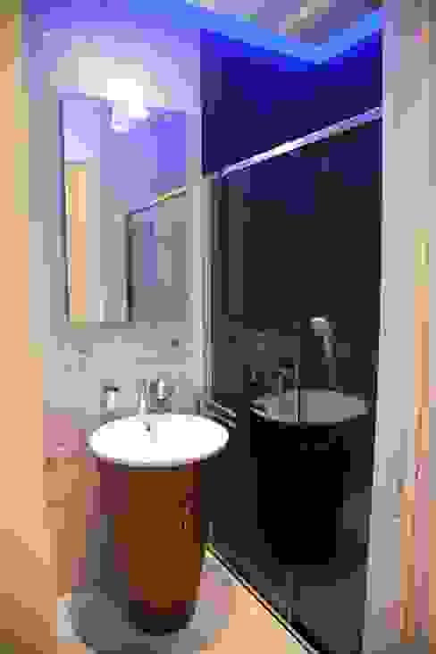 ห้องน้ำ โดย G/G associati studio di ingegneria e architettura _ing.r.guglielmi_arch.a.grossi, โมเดิร์น