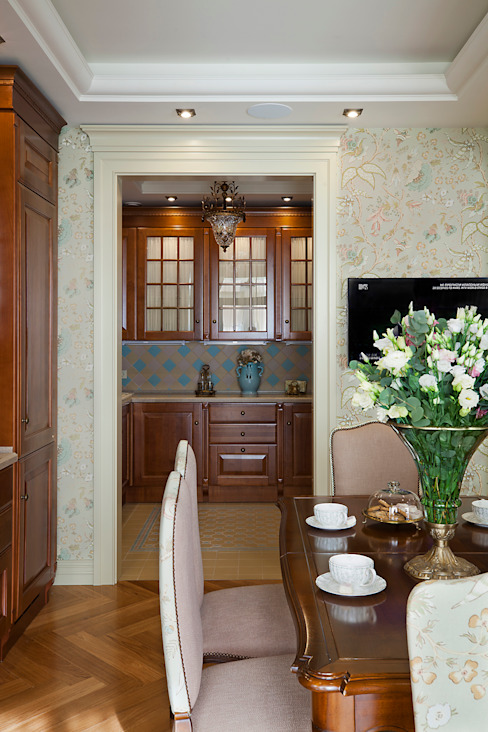 Classic style dining room by VVDesign Classic