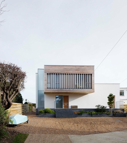 Pooley House Adam Knibb Architects Casas modernas