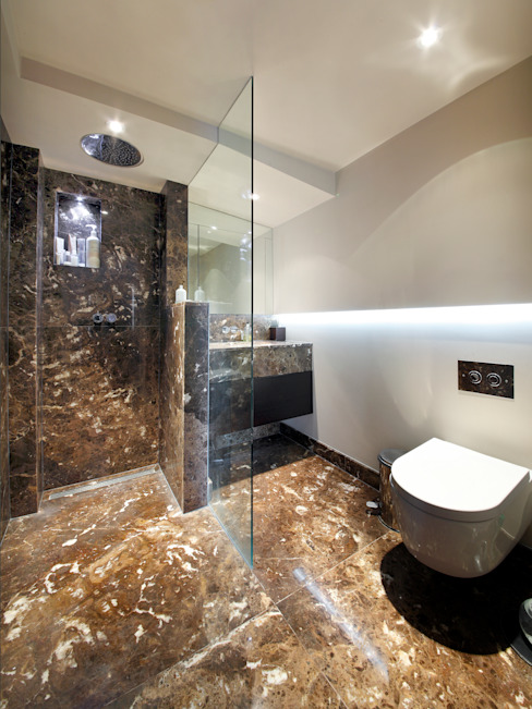Cambrian Road Modern bathroom by Green County Developments Modern