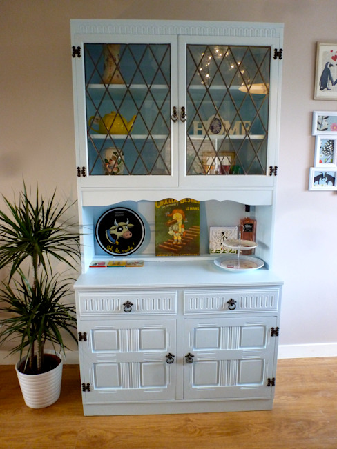 Living & Dining Room, Kippax: eclectic  by Crow's Nest Interiors, Eclectic