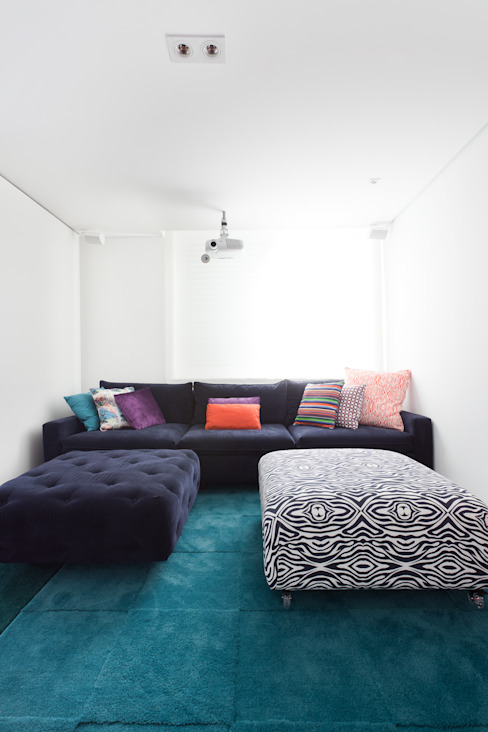 Projekty,  Salon zaprojektowane przez Suite Arquitetos, Nowoczesny