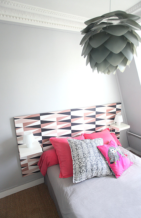 Sandra Dages Eclectic style bedroom