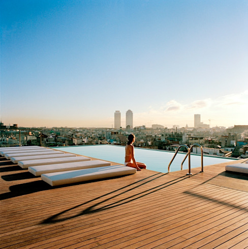 Outdoorparkett Mediterrane Pools von Holz + Floor GmbH | Thomas Maile | Living with nature since 1997 Mediterran