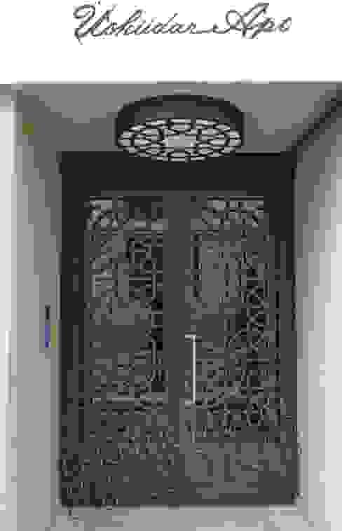 Teknik Metal Ferforje Puertas y ventanas modernas