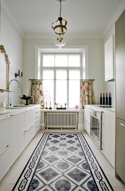 Encaustic Cement Tiles от Original Features Средиземноморский