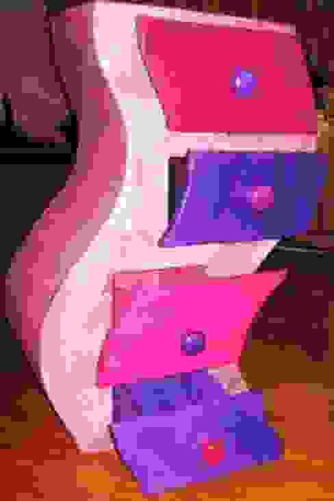 Chevet ondulant par Ca cartonne avec Isa Éclectique
