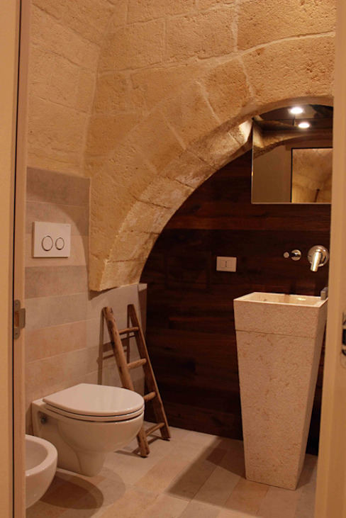 Rustic style bedroom by FRANCESCO CARDANO Interior designer Rustic