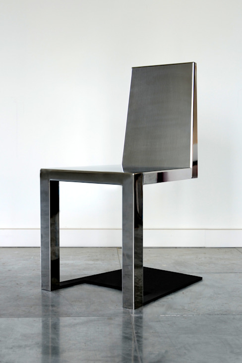 Stainless Steel Shadow Chair di Duffy London Eclettico