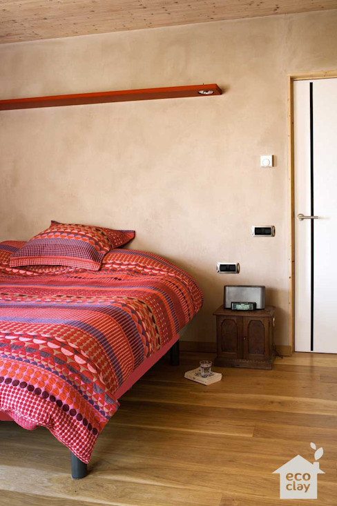 Moderne Häuser von ecoclay Modern