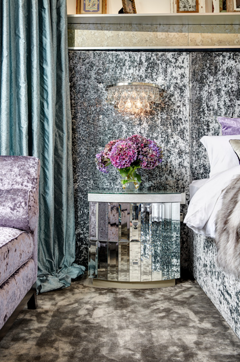 Master Bedroom White Linen Interiors Ltd Eclectic style bedroom