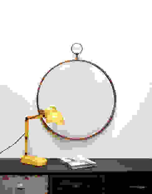 Miroir Gousset par homify Éclectique