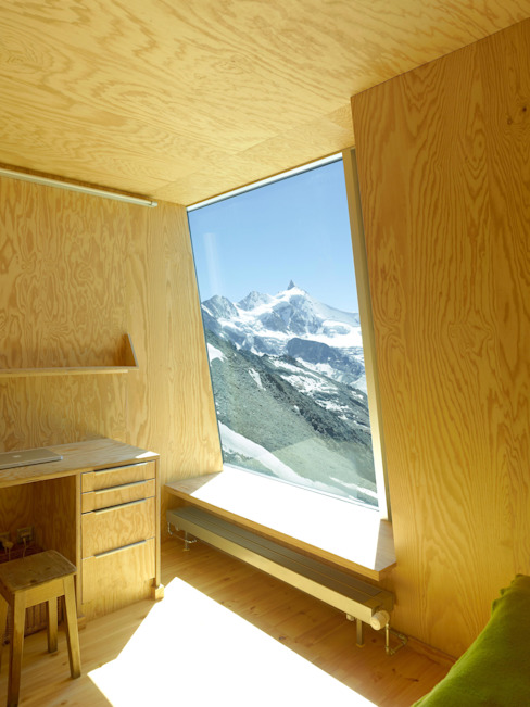 New mountain hut at Tracuit by savioz fabrizzi architectes