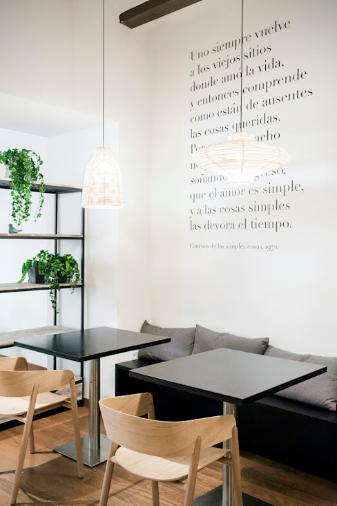 Oslo restaurant Gastronomía de estilo escandinavo de Borja Garcia Studio Escandinavo