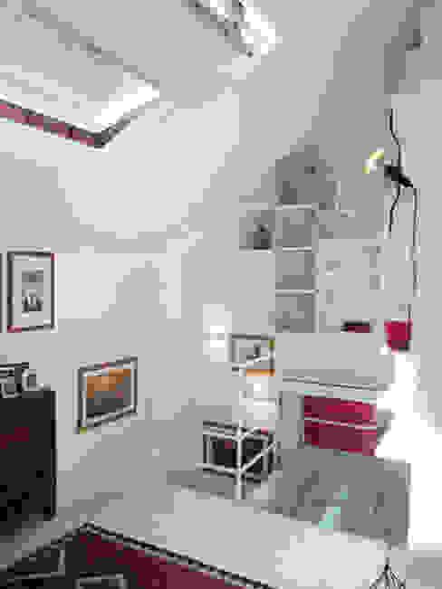 Architettura in piena luce.... La rinascita di un mini loft , 60 mq da scoprire Francesca Mazziotti Architetto