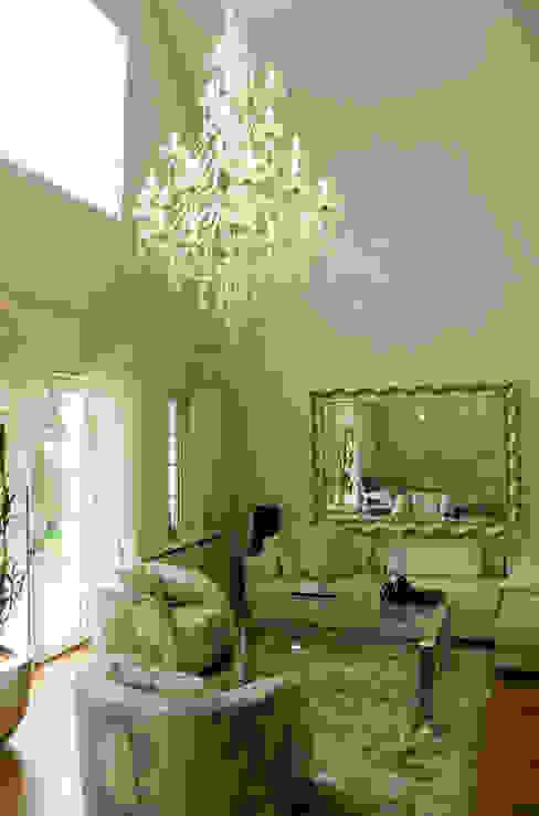beykoz residence salon area Eklektik Oturma Odası ARKITEX INTERIORS Eklektik