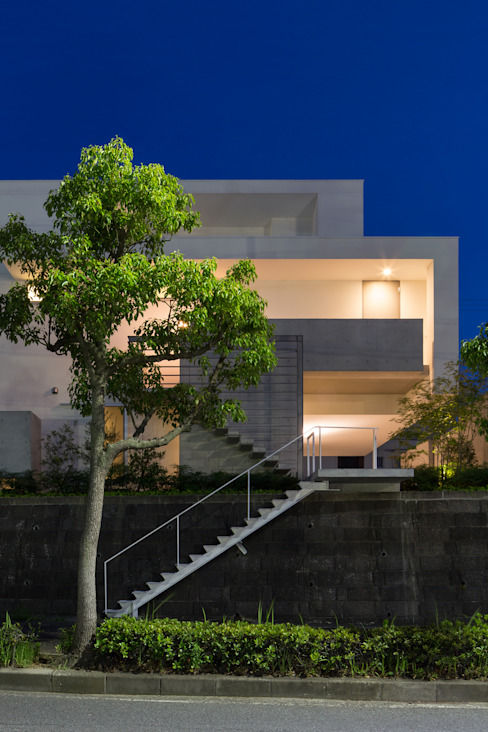 Maisons de style  par Kenji Yanagawa Architect and Associates, Moderne