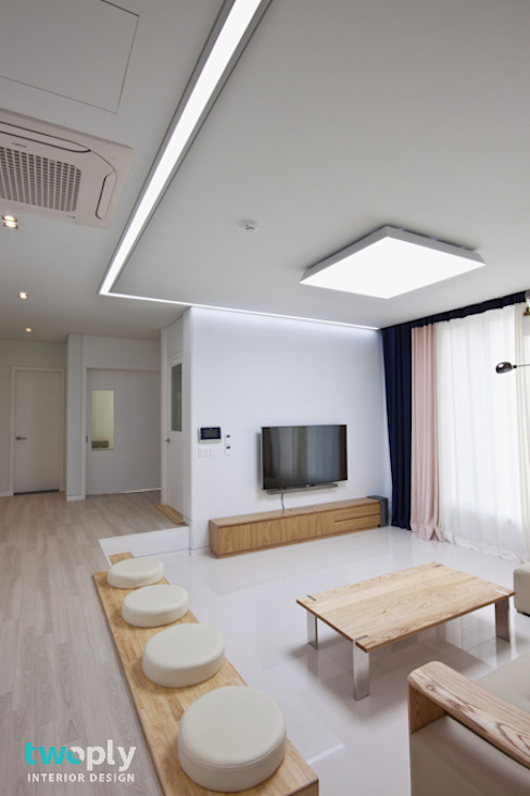디자인투플라이 Modern Living Room