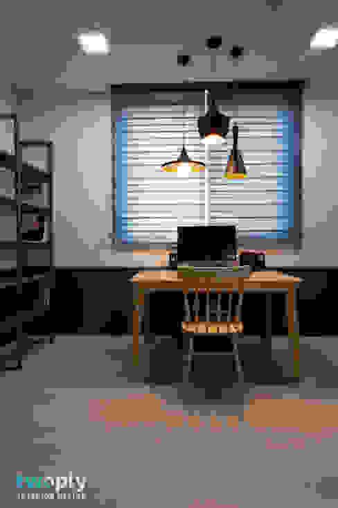 Estudios y despachos de estilo  de 디자인투플라이