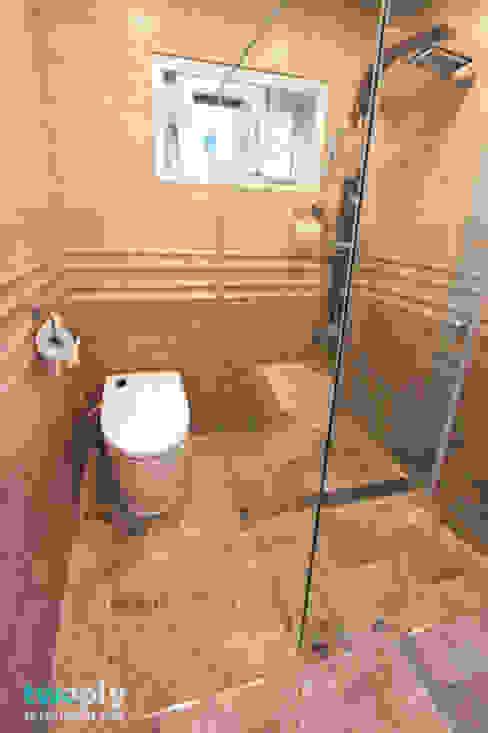 Baños de estilo  por 디자인투플라이, Moderno