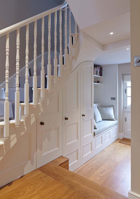Townhouse Interior Design, Putney Bridge, London Residence Interior Design Ltd Nowoczesne domy