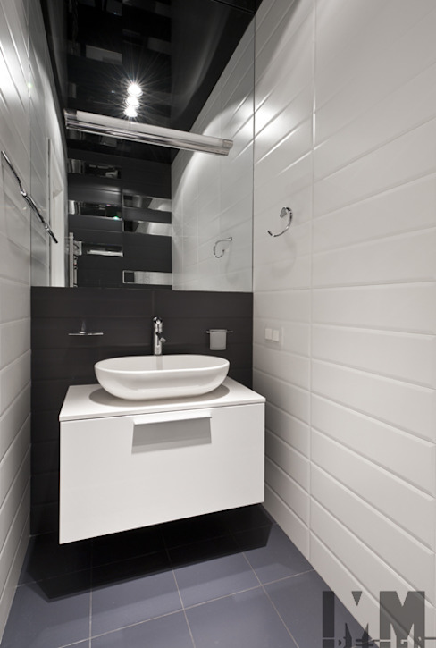 Треугольная инверсия Ванная комната в стиле минимализм от ММ-design Минимализм