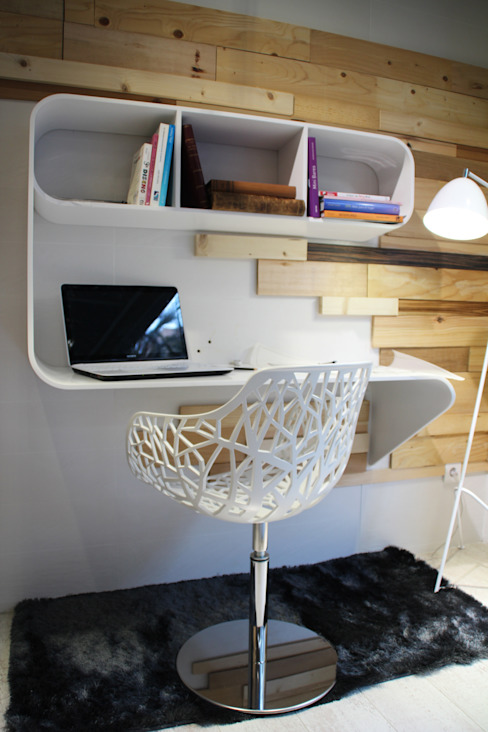 Study/office by Ideas Interiorismo Exclusivo, SLU