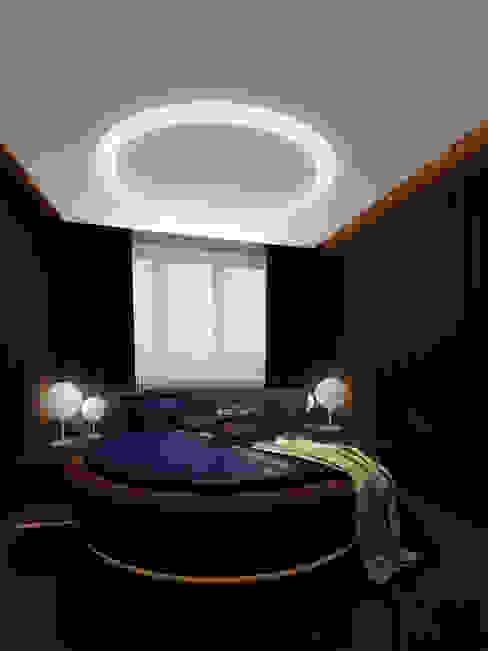 В круге света Спальня в стиле минимализм от ММ-design Минимализм