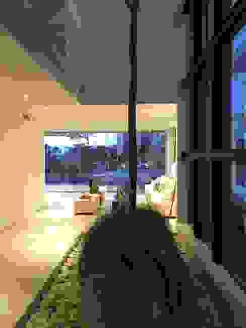 Jardin d'hiver de style  par Vortex Arquitectos, Minimaliste
