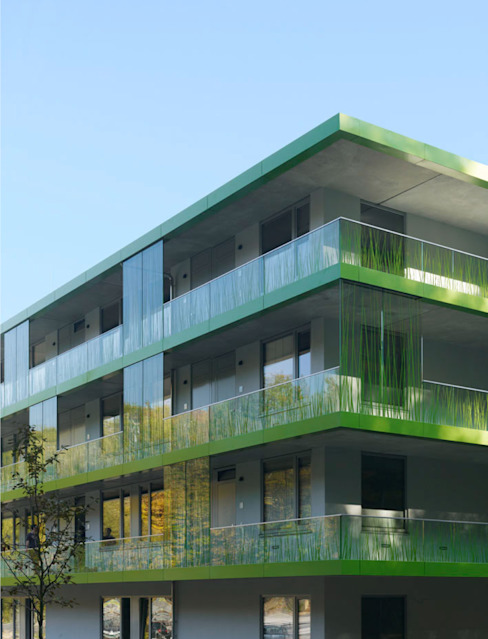 Salon minimaliste par SEHW Architektur GmbH Minimaliste