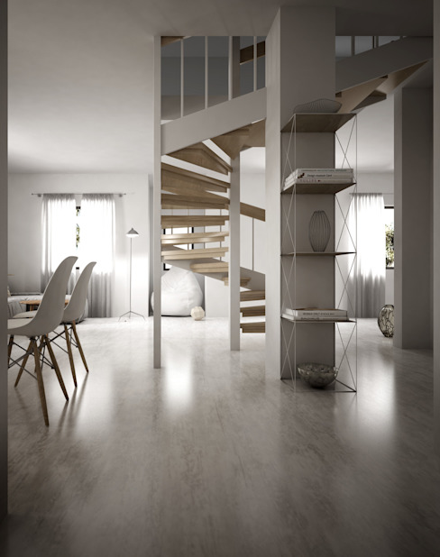 Pasillos y recibidores de estilo  por 3DCanva , Minimalista