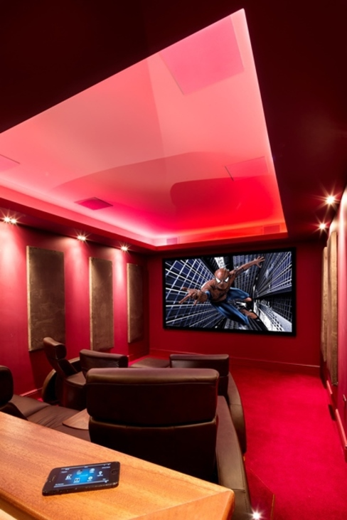 Elizabethan Mansion Classic style media room by Inspire Audio Visual Classic