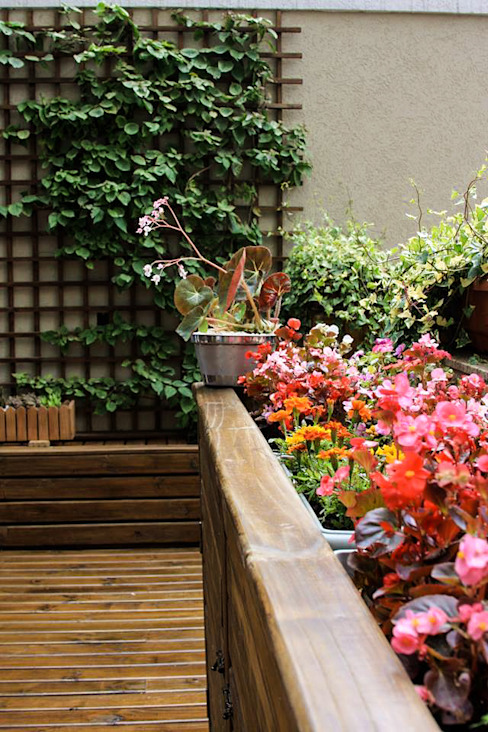 Jardines modernos de Studio Gorski Arquitetura Moderno