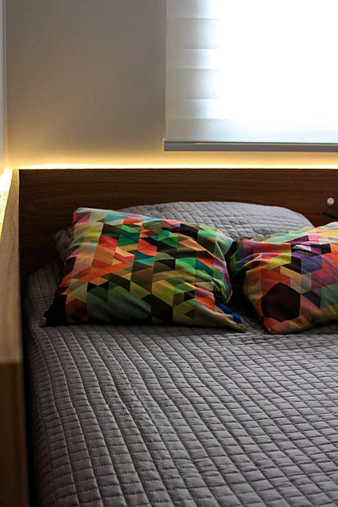 Chambre moderne par Studio Gorski Arquitetura Moderne