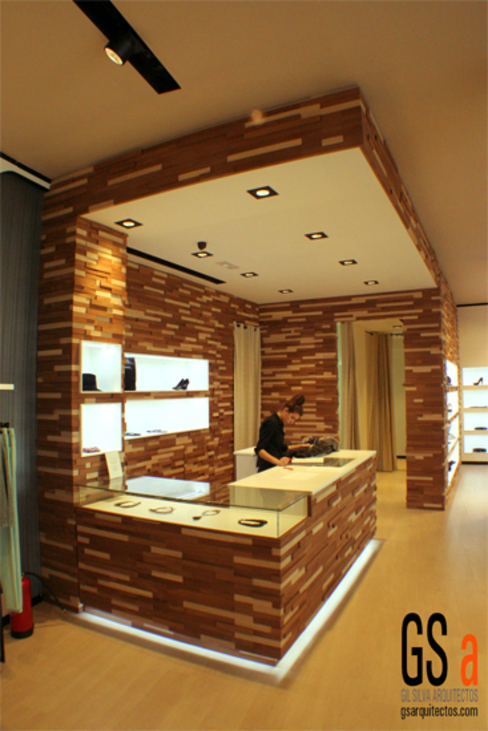 gs arquitectos Office spaces & stores