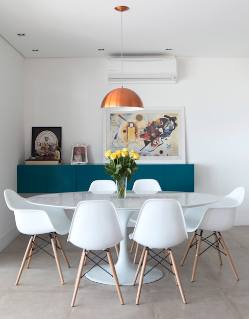 Dining room by Decorare Studio de Arquitetura