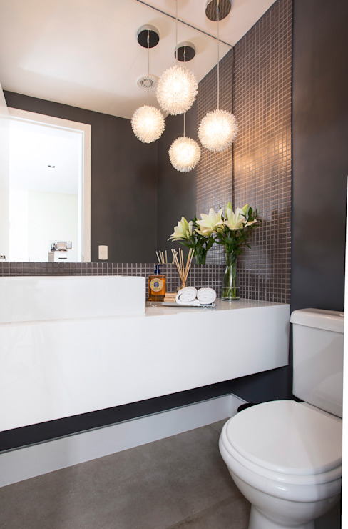 Lavabo Banheiros modernos por Decorare Studio de Arquitetura Moderno