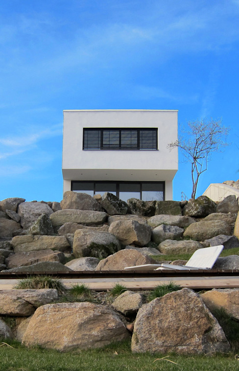 Casas estilo moderno: ideas, arquitectura e imágenes de Erwin Becker Architekt BDA Moderno