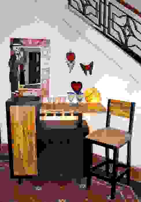 Bar Reciclato de Segusino Muebles Condesa Moderno