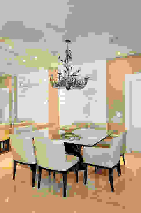 Projeto Identidade Brasileira - Sala de Jantar Salas de estar modernas por Adriana Scartaris: Design e Interiores em São Paulo Moderno