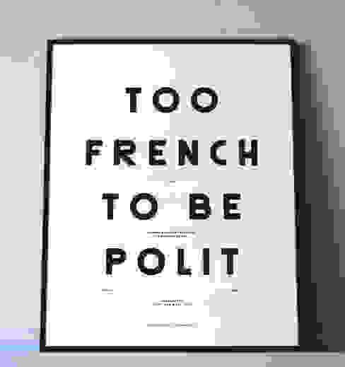"MOODPAPER ""TOO FRENCH TO BE POLIT"" par Polit Scandinave"