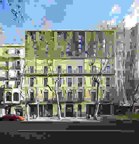 Hotel Vincci Gala Barcelona de TBI Architecture & Engineering