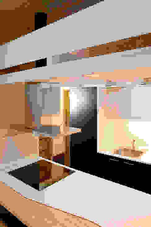 Loft ANDRÉS BORREGO. Madrid Cocinas minimalistas de Beriot, Bernardini arquitectos Minimalista
