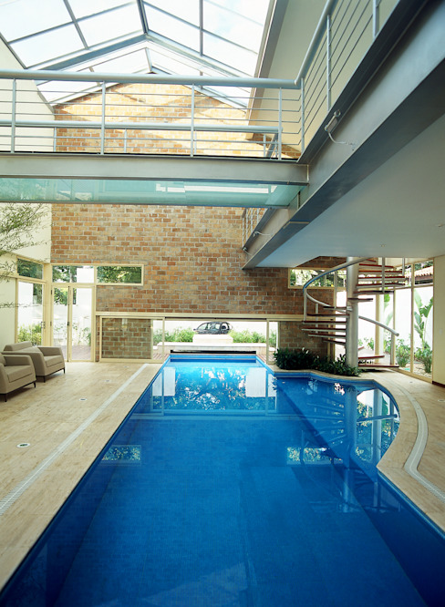 Piscinas de Betty Birger Arquitetura & Design