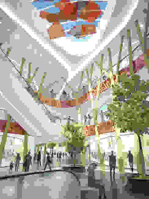 Shopping Center Milaneo at Mailänder Platz by TBI Architecture & Engineering